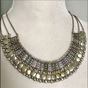 Jewelry - 🎀BEAUTIFUL SILVER STATEMENT NECKLACE ADJUSTABLE